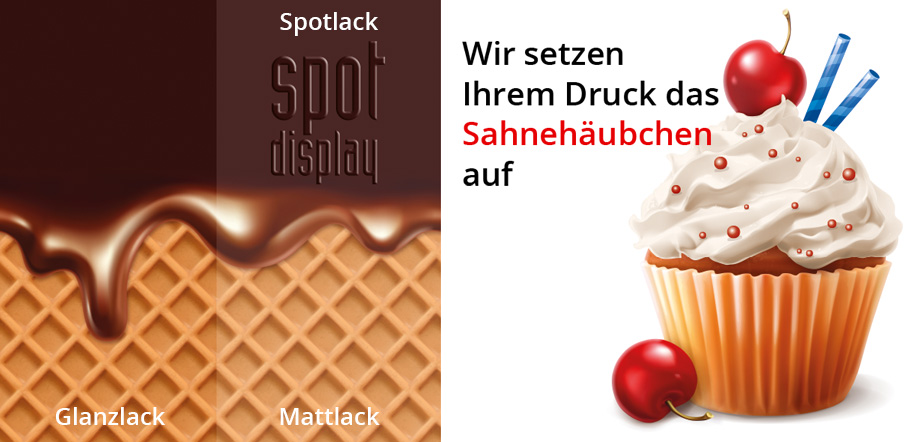 spot displays Digitaldruck